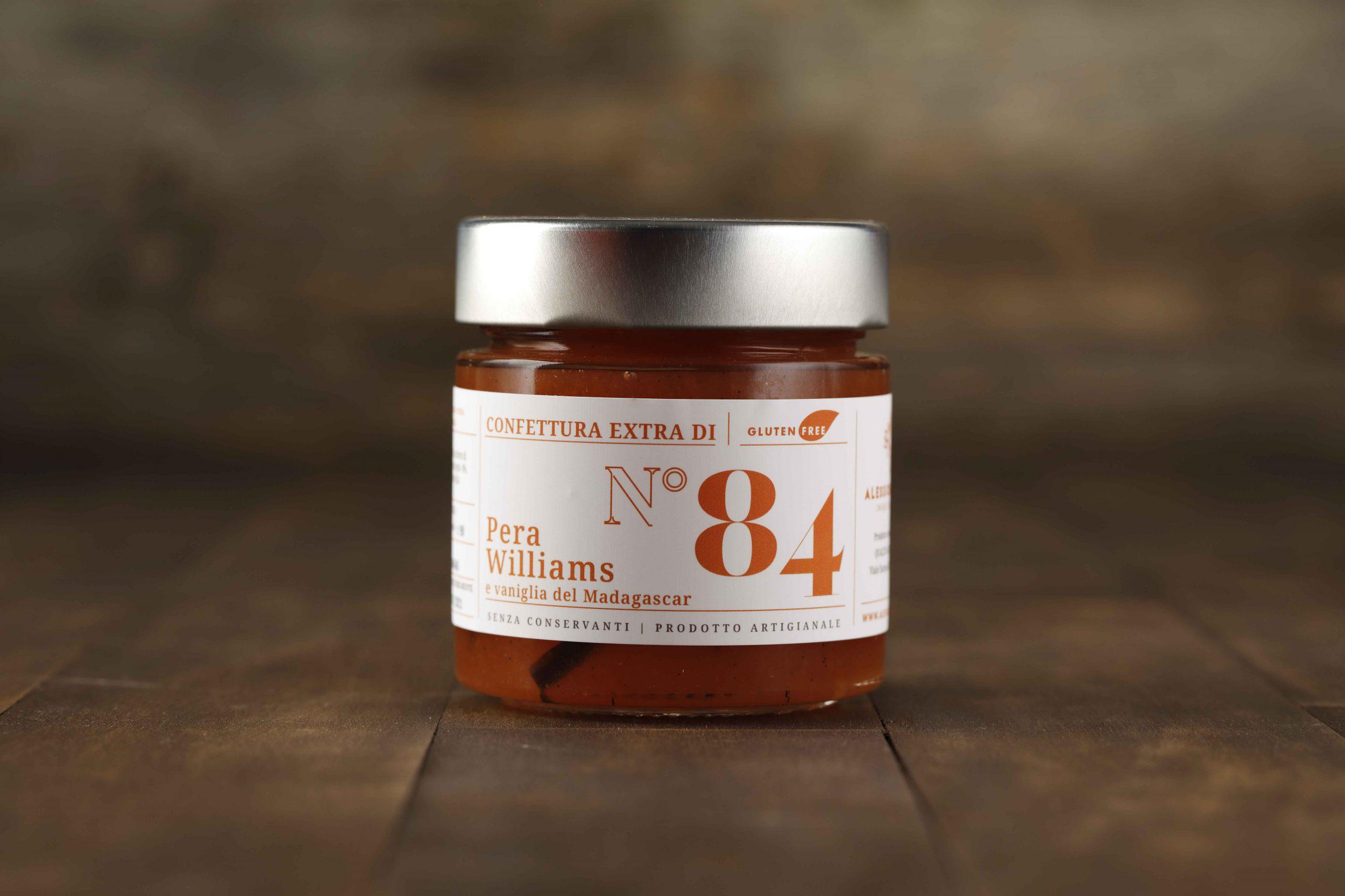 Confettura extra di pere Williams e vaniglia - Del Ben Formaggi