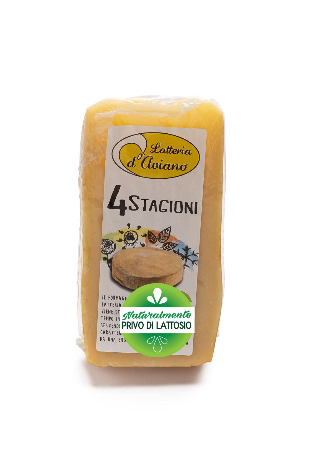 Formaggio - senza lattosio - latteria d'Aviano Quattro stagioni - Del Ben Formaggi - 300g