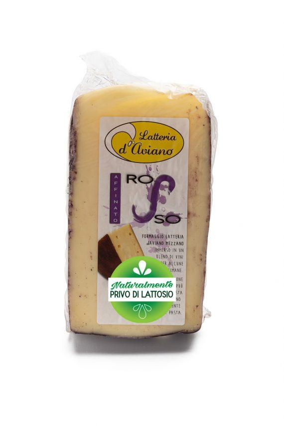 Formaggio - senza lattosio - latteria d'Aviano ubriaco rosso - Del Ben Formaggi - 300g