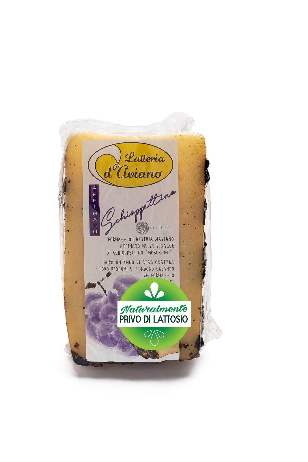 Formaggio - senza lattosio - latteria d'Aviano ubriaco schioppettino - Del Ben Formaggi - 300g