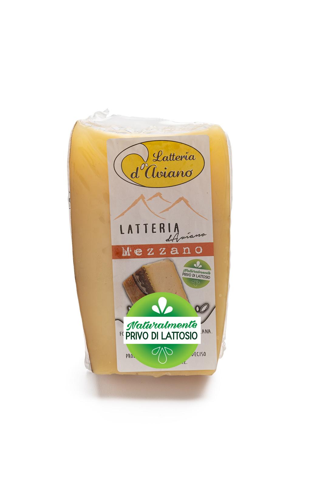 Formaggio - senza lattosio - latteria d'Aviano mezzano - Del Ben formaggi - 300g