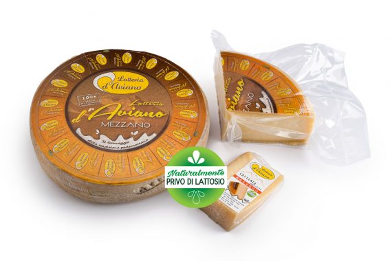 Formaggio - senza lattosio - latteria d'Aviano mezzano - Del Ben formaggi