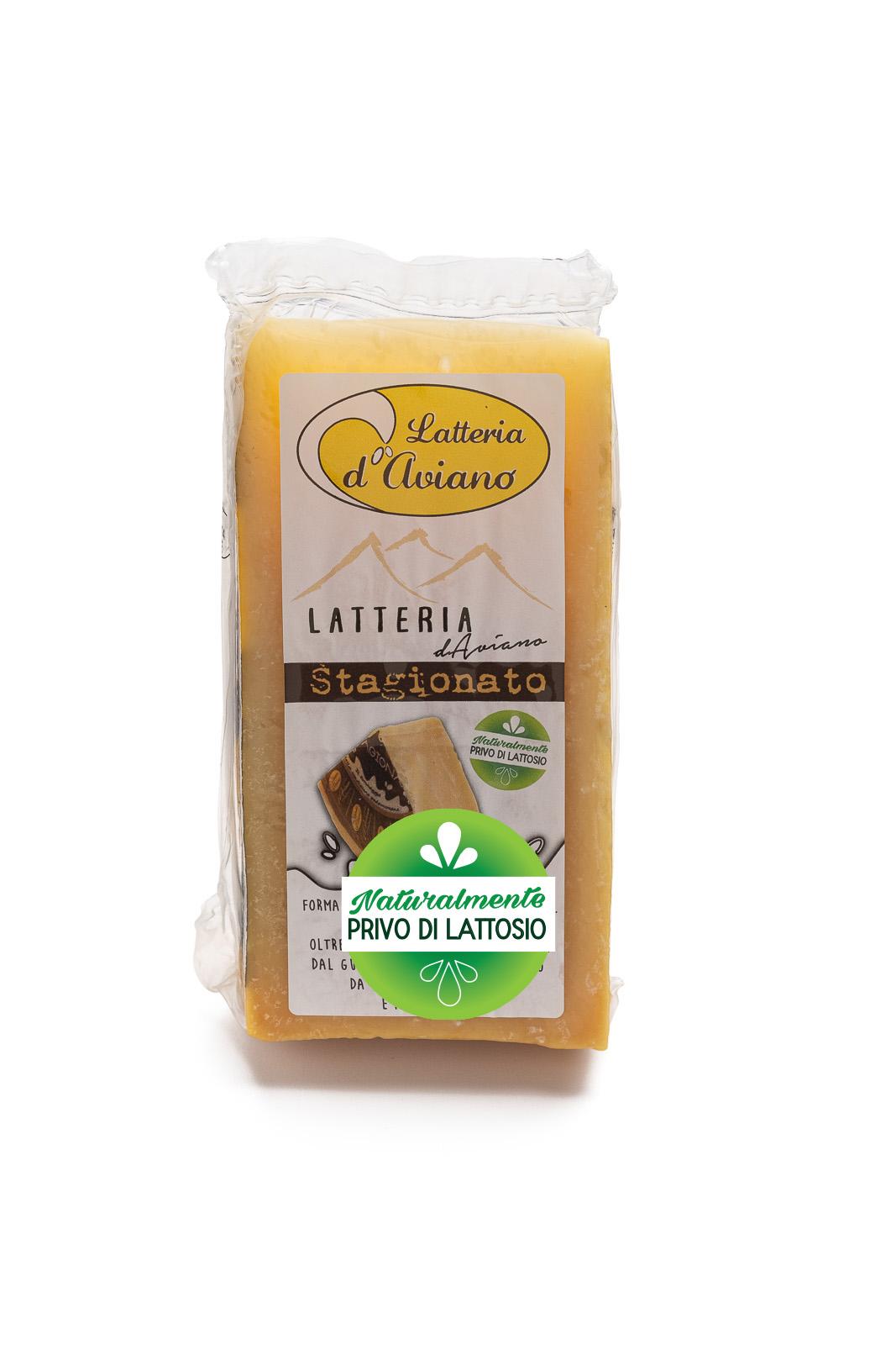 Formaggio - senza lattosio - latteria d'Aviano stagionato - Del Ben formaggi - 300g