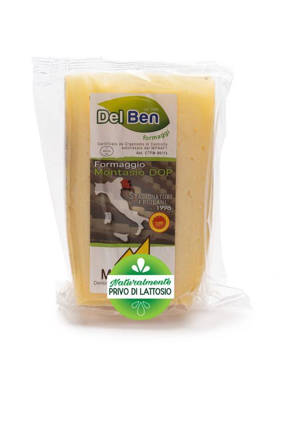 Formaggio - senza lattosio - Montasio fresco - DOP PN casello 208 - Del Ben formaggi - 300g