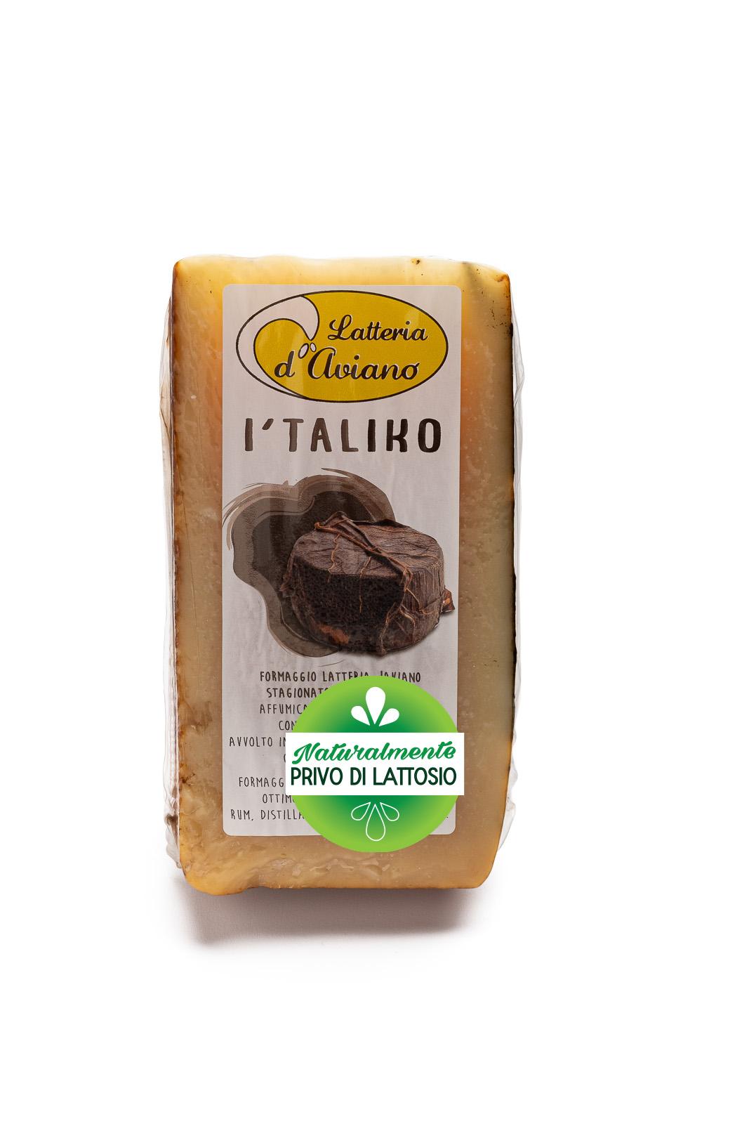 Formaggio - senza lattosio - I'taliko - Del Ben Formaggi - 300g