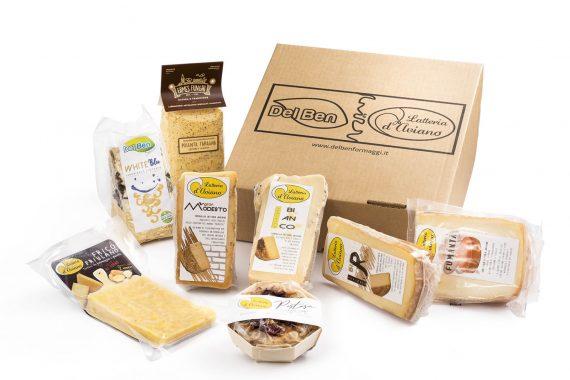 Pacchetto degustazione - Box Gourmet - Del Ben formaggi