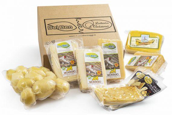 Pacchetto degustazione - Frico Box per 4/8 persone - Del Ben formaggi